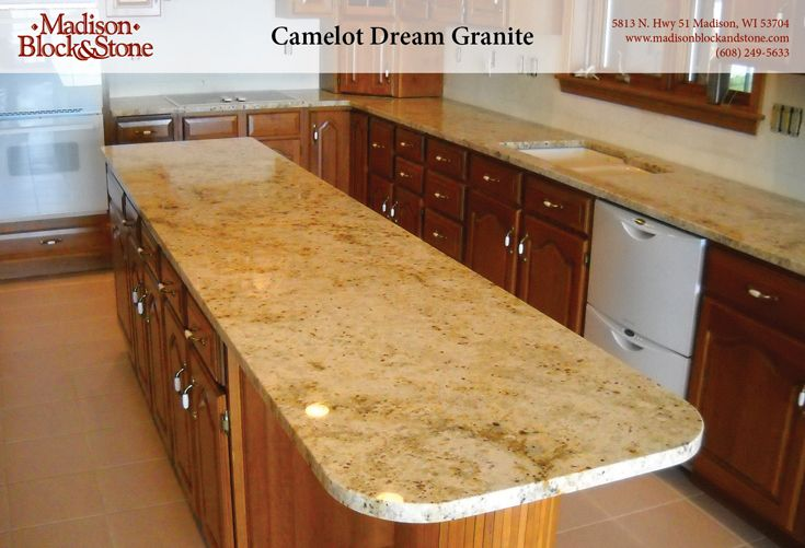 Camelot Dream (Polished) Granite Kitchen Countertops, New Home  Construction, Mbs, Kitchen