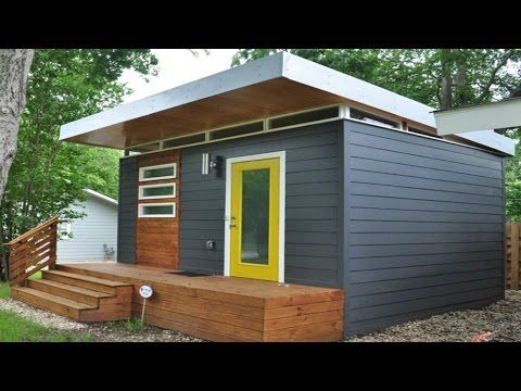 (1) Studio Type Micro House | Tiny Home Design Ideas   YouTube