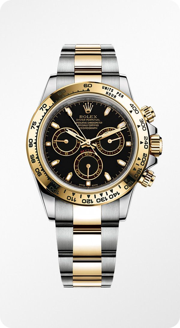 b619c9e7697 A Rolesor version of the Rolex Cosmograph Daytona