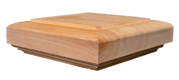 Best Cedar Porch Newel Post Caps For Exterior Railings Balustrades Newel Post Caps 400 x 300
