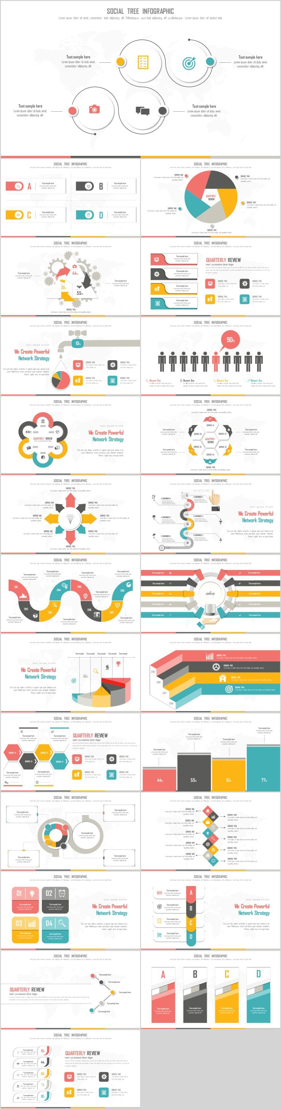 24 Best infographic Design PowerPoint templatesThe highest quality PowerPoint Templates and Keynote Templates download