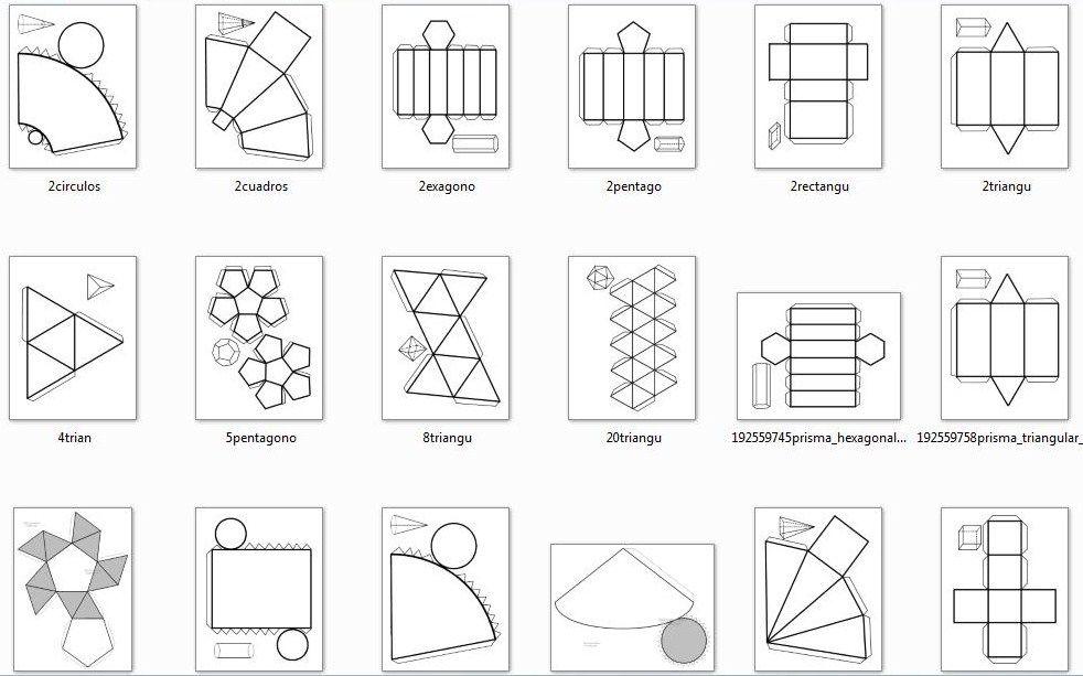 Argonautas Cuerpos Geometricos Cuerpos Geometricos Para Armar Imagenes De Cuerpos Geometricos Figuras Y Cuerpos Geometricos