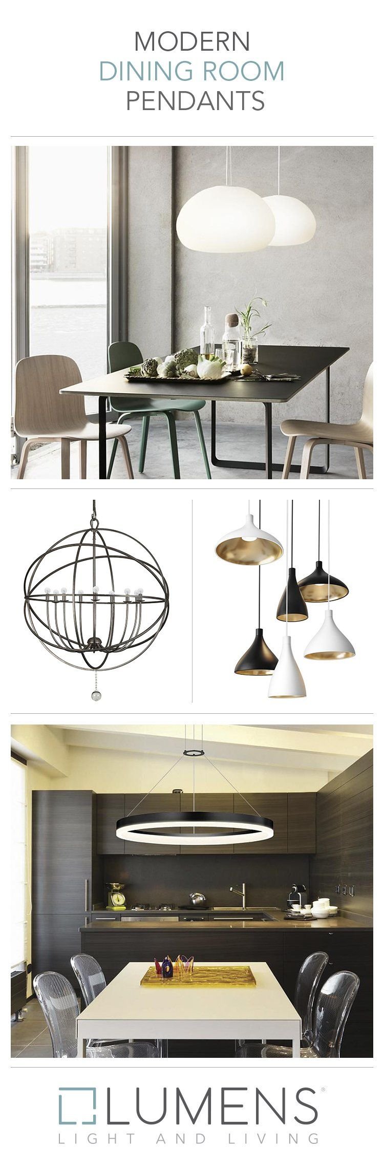 The Popular Pendant Light Is A Great Choice Over Dining Room Tables And Eat In Kitchen Areas Modern Dining Room Dining Room Pendant Living Room Light Fixtures