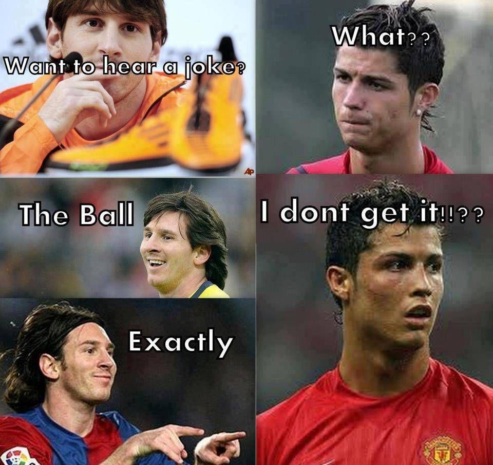 False Equivalence Football Meme