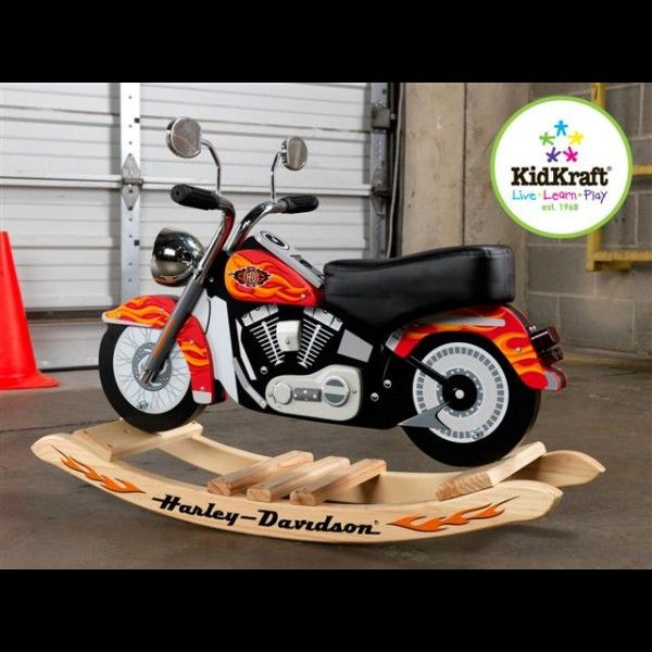 Harley davidson wooden rocking motorcycle plans free plans for Woodworking plan for motorcycle rocker toy