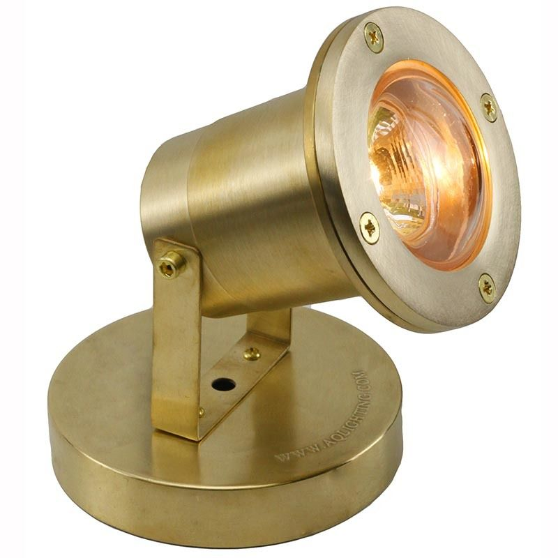 12v Brass Submersible Open Face Underwater Pond Light Pudx77 Pond Lights Bubble Glass Fountain Lights