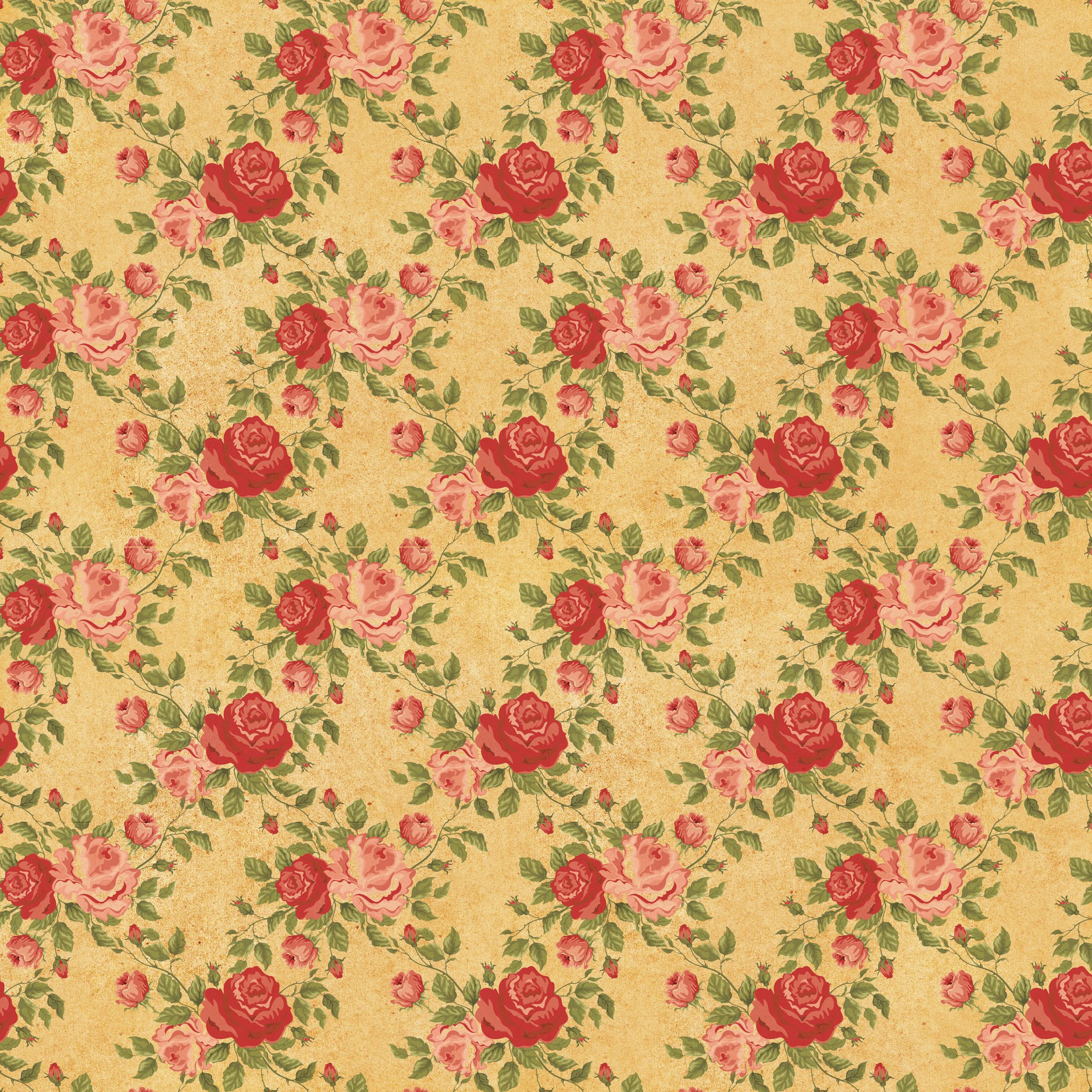 For A Slightly Different Take On The Vintage Floral Pattern Here Are 2 New Fabrics