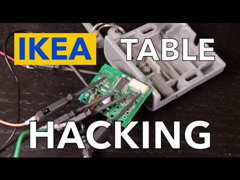 Ikea Standing Desk Goes Dumb to Smart on LIN Bus | Hackaday | Misc