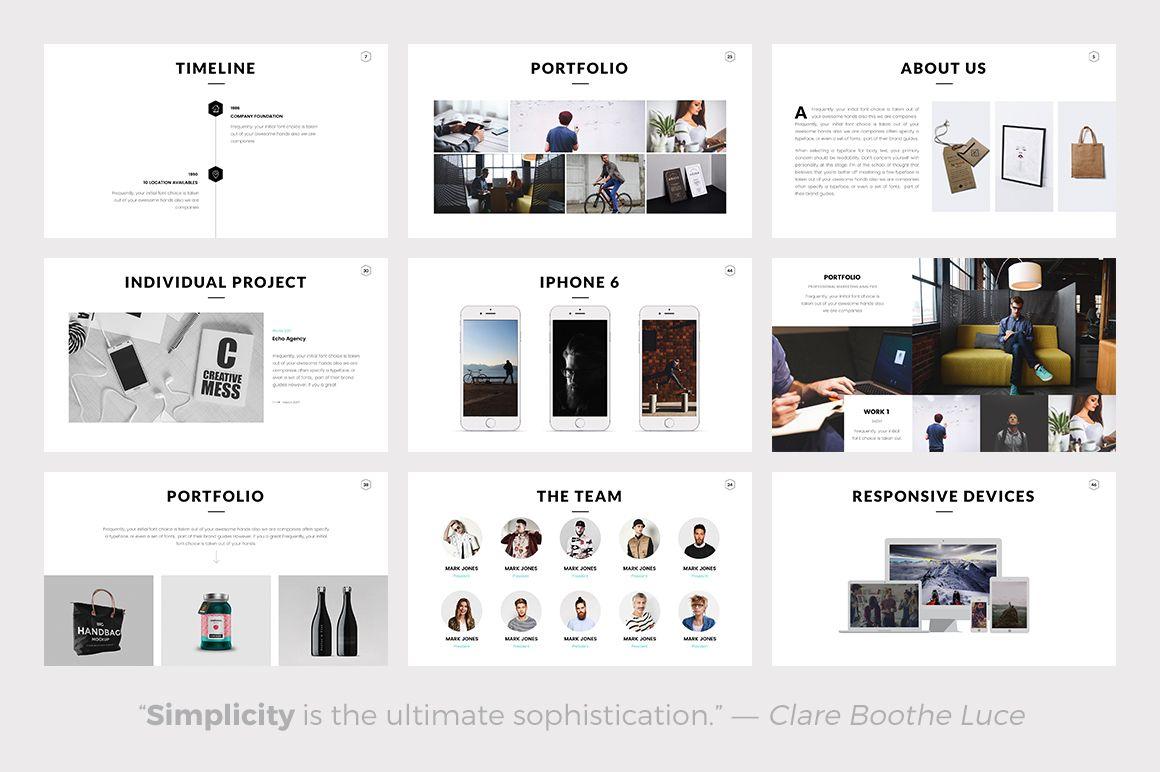Rivka minimal powerpoint template minimal template and personal rivka minimal powerpoint template by slidedizer on creativemarket toneelgroepblik Gallery