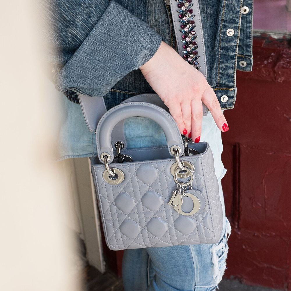 f9a8671570 Latest Obsession: Dior's Mini Lady Dior Bag and Embellished Strap ...