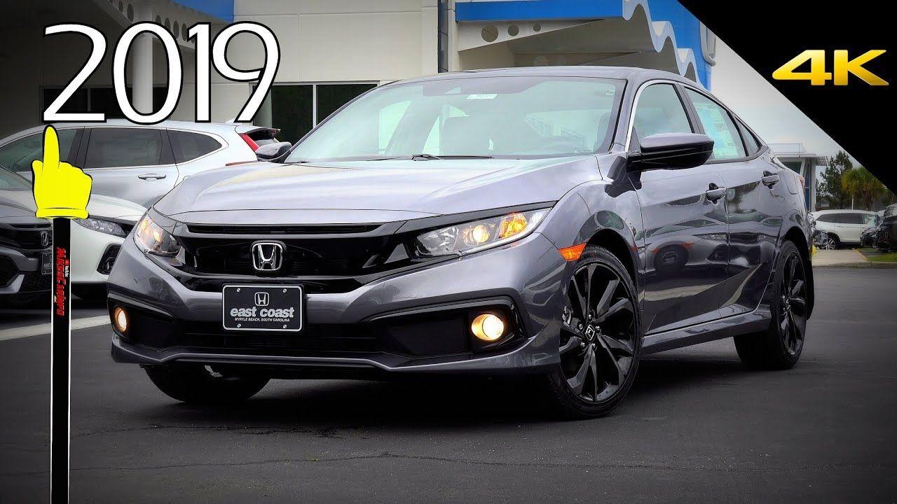 2019 Honda Civic Sport Ultimate InDepth Look in 4K Carros