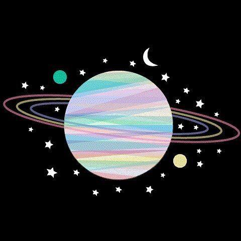 planet saturn cute - photo #12