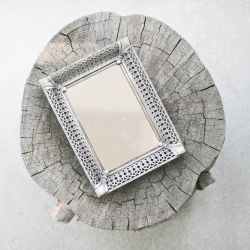 DIY Make your own antique-like mirror using an old frame ...