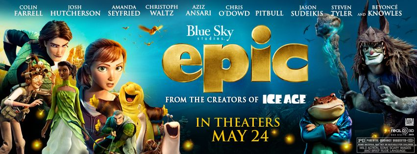 EPIC, Starring Josh Hutcherson, Hits Theaters May 24 #epicmovie