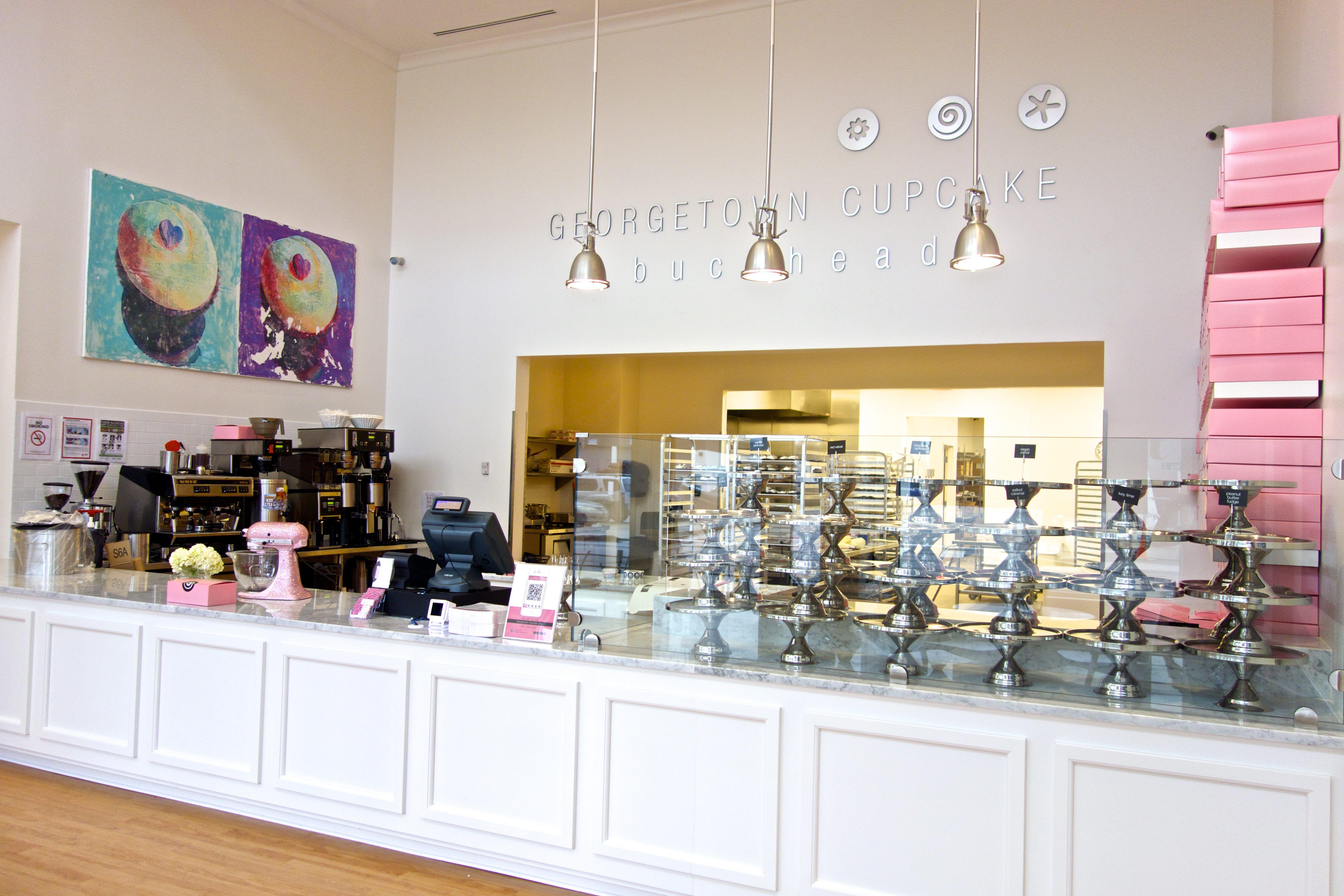 Georgetown Cupcake Buckhead Shop Interior Neely bs cupcakes