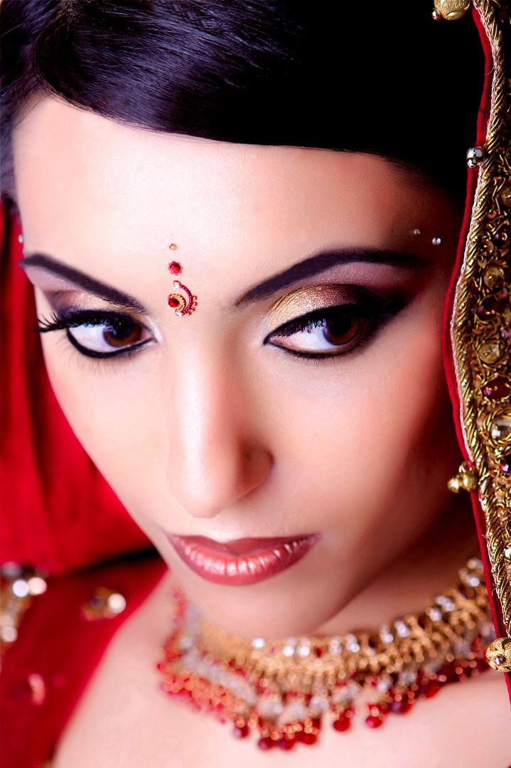 makeup apply bridal to How asian