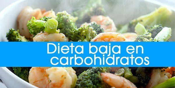 Dieta semanal sin hidratos de carbono