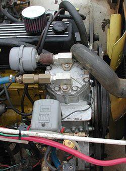 York Air Compressor Mod Truck Air Compressor Air Compressor