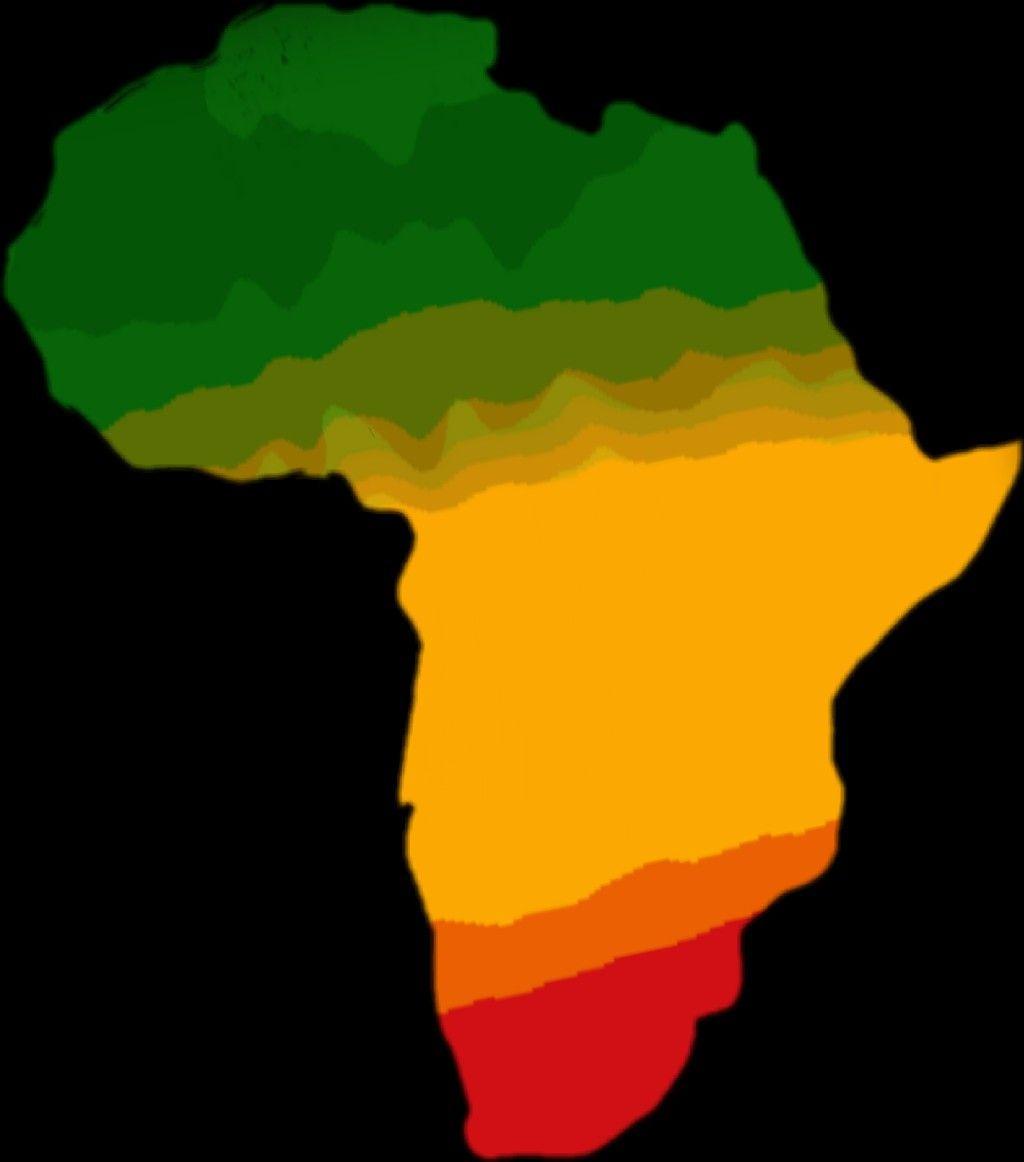 Carte Afric Africa Afrique Rasta Vertjaunerouge Reggae Dubrootsgirl Dubrootsgirlcreation Picsart Stickers Autocollant Afrique Peinture Picsart