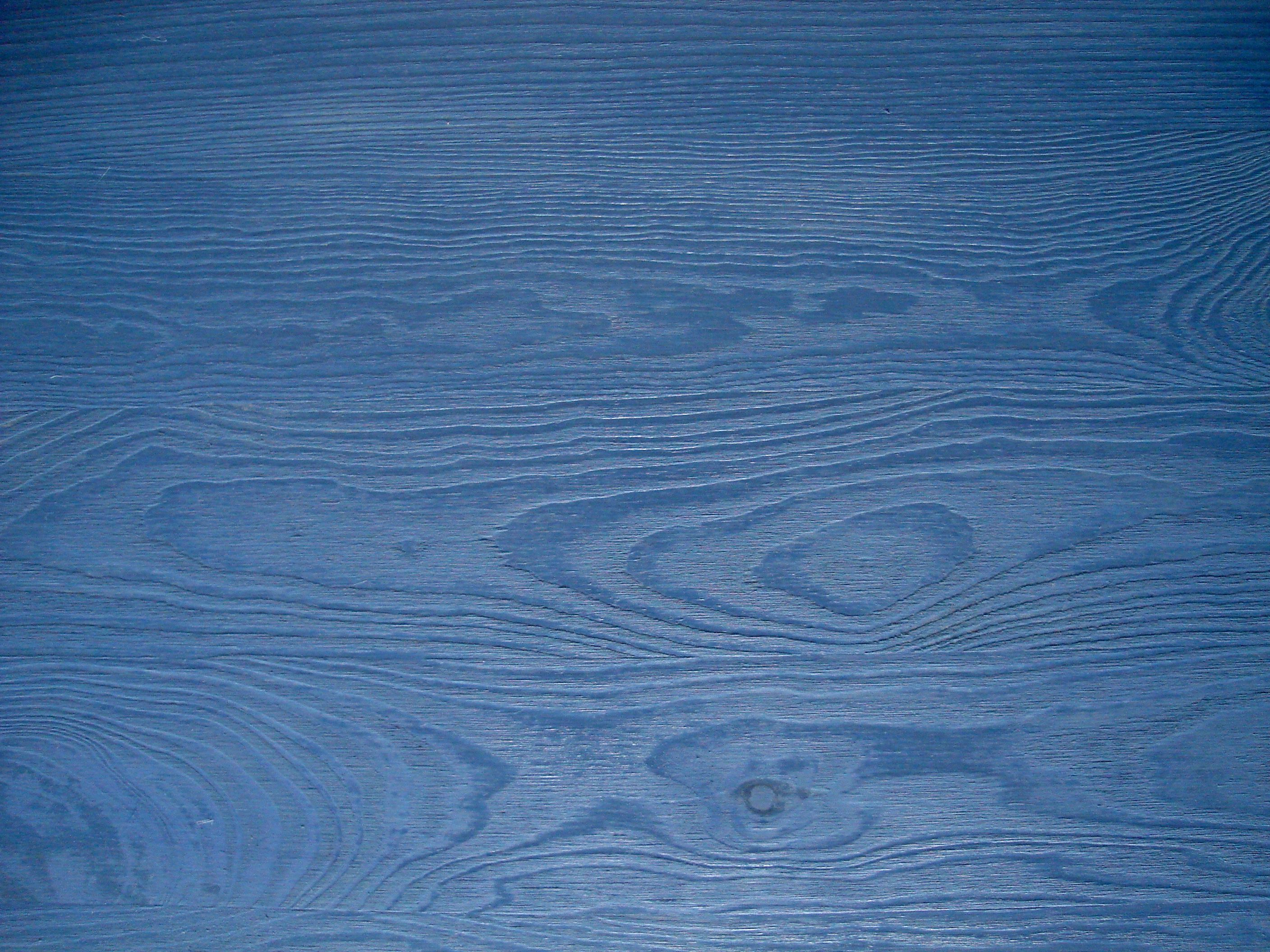 Blue Wood Stain | Color Staining Wood Furniture