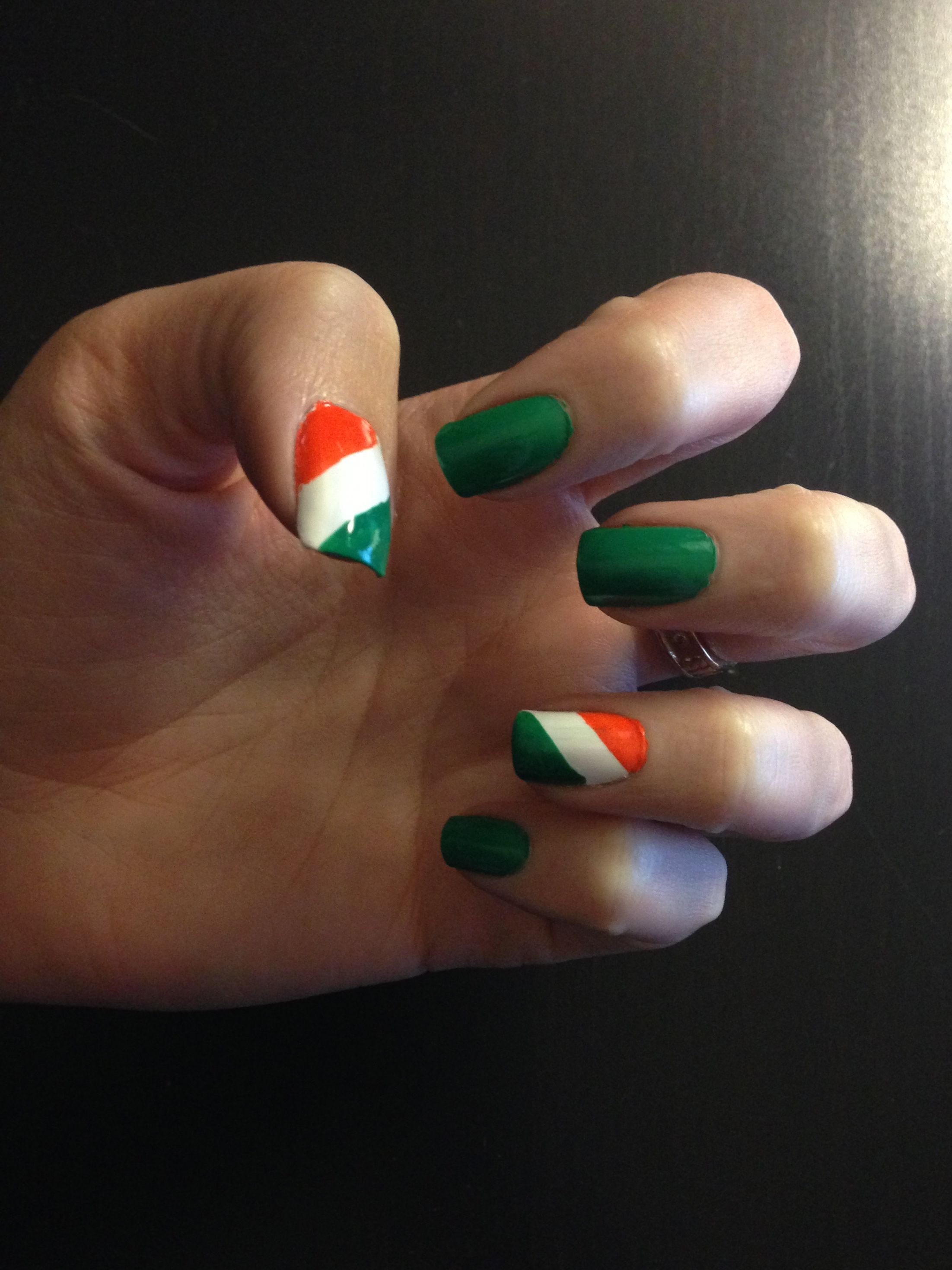 Irish Nails | My nail creations | Pinterest | Irish nails, Irish ...
