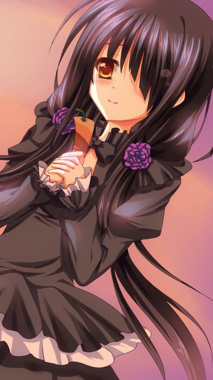 Anime Date A Live Kurumi Tokisaki Mobile Wallpaper