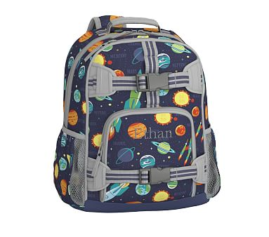 Mackenzie Navy Solar System Backpack Pottery Barn Kids