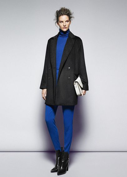 Black & Electric Blue #THEOUTNET #FashionMath