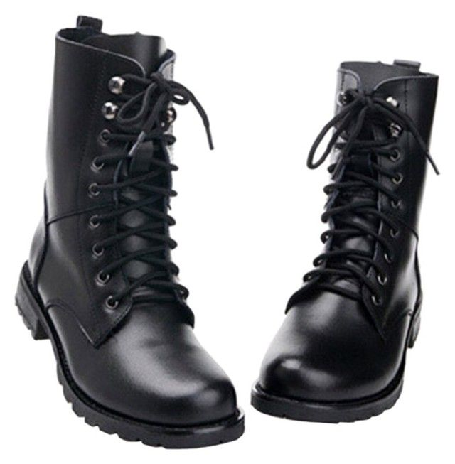MILITARY BOOT// SHOE LACES BLACK ARMY NEW
