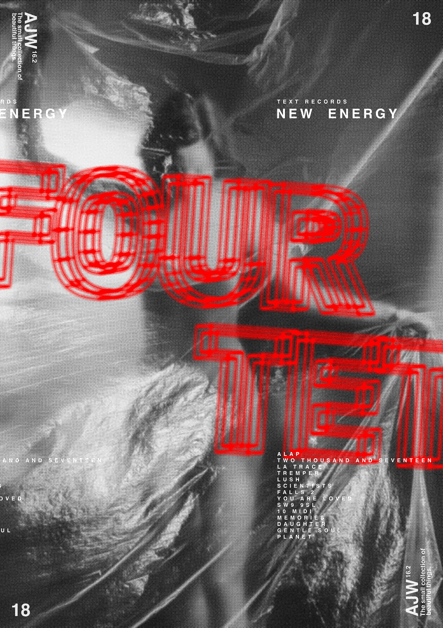 Four Tet Poster Abstract Poster Design Series Ashley Wheat