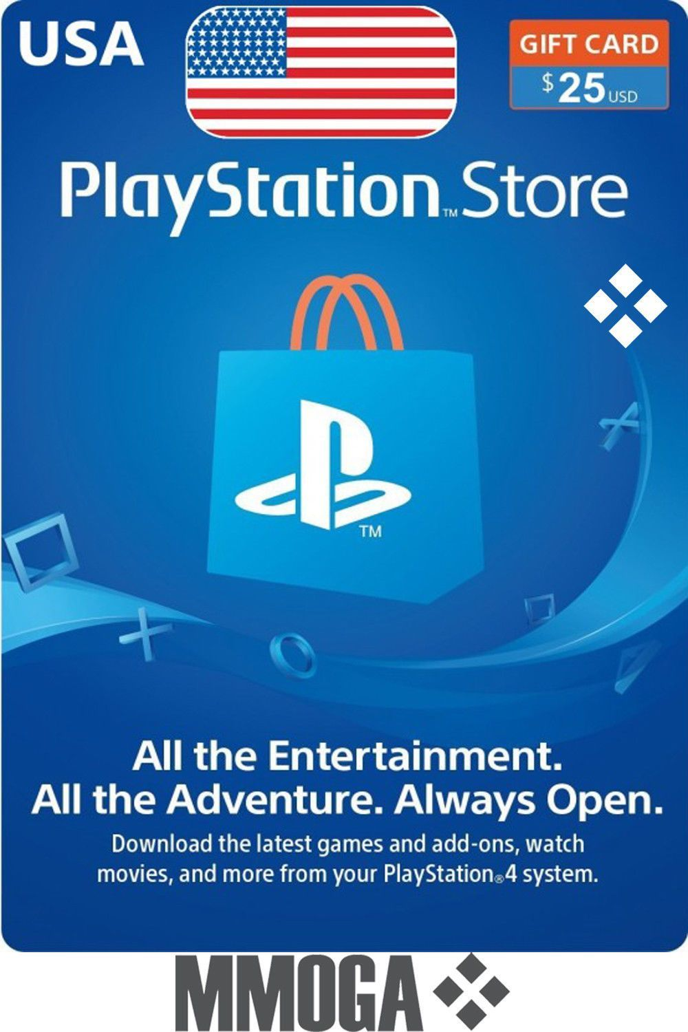 Pin by USA Gift Zone on PlayStation gift card in 2020