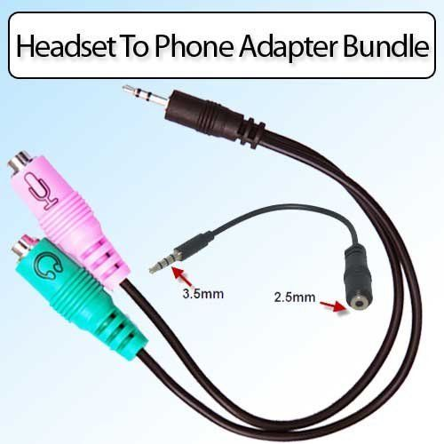 Headset Buddy 01-PC35-PH25/35- PC Headset To 2.5mm And 3