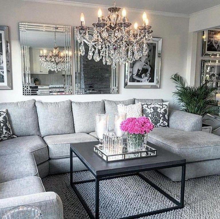 Modern Glam Living Room Decorating Ideas 19: 25 Awesome Swoon-Worthy Glam Living Room Decor Ideas