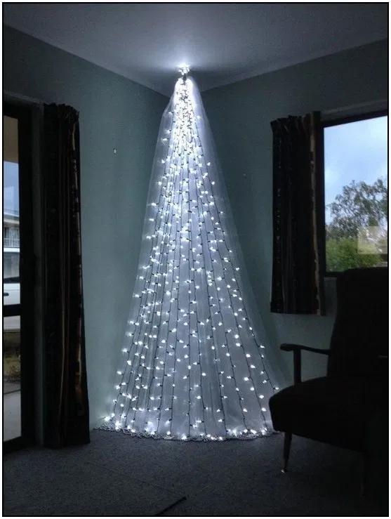 150 Hermosas Ideas Para Decorar Tu Arbol De Navidad En Diferentes Estilos Page Decorating With Christmas Lights Alternative Christmas Creative Christmas Trees