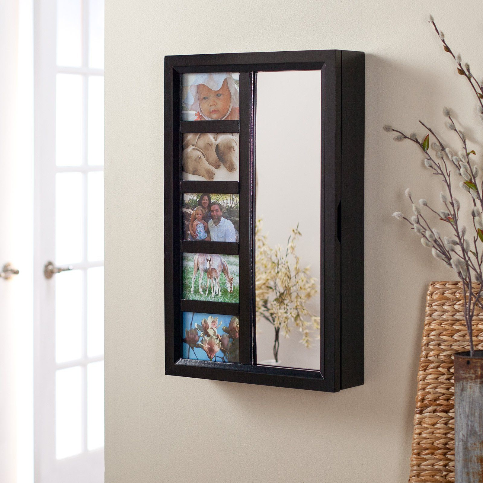 Have to have it Photo Frames Wall Mount Jewelry Armoire Mirror