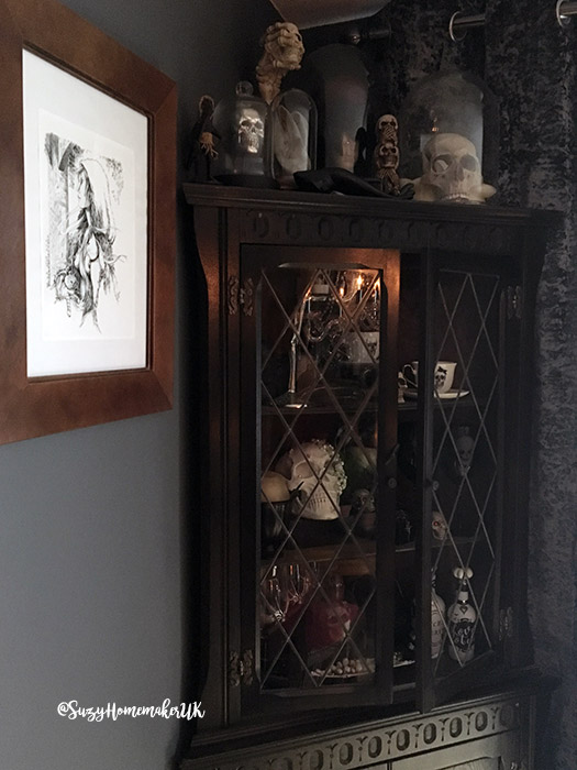 Photo of A Victorian Gothic Dining Room Makeover | The Witch at OneandSeventy