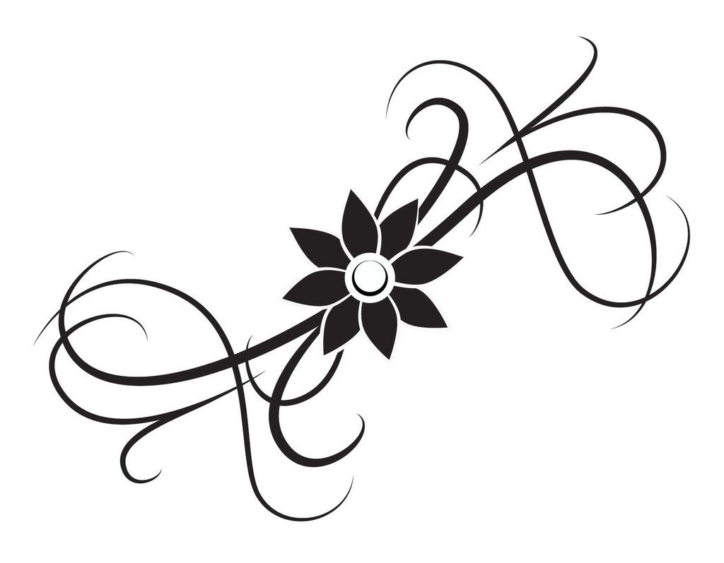 Images For Gt Simple Flower Tattoo Designs Simple Flower