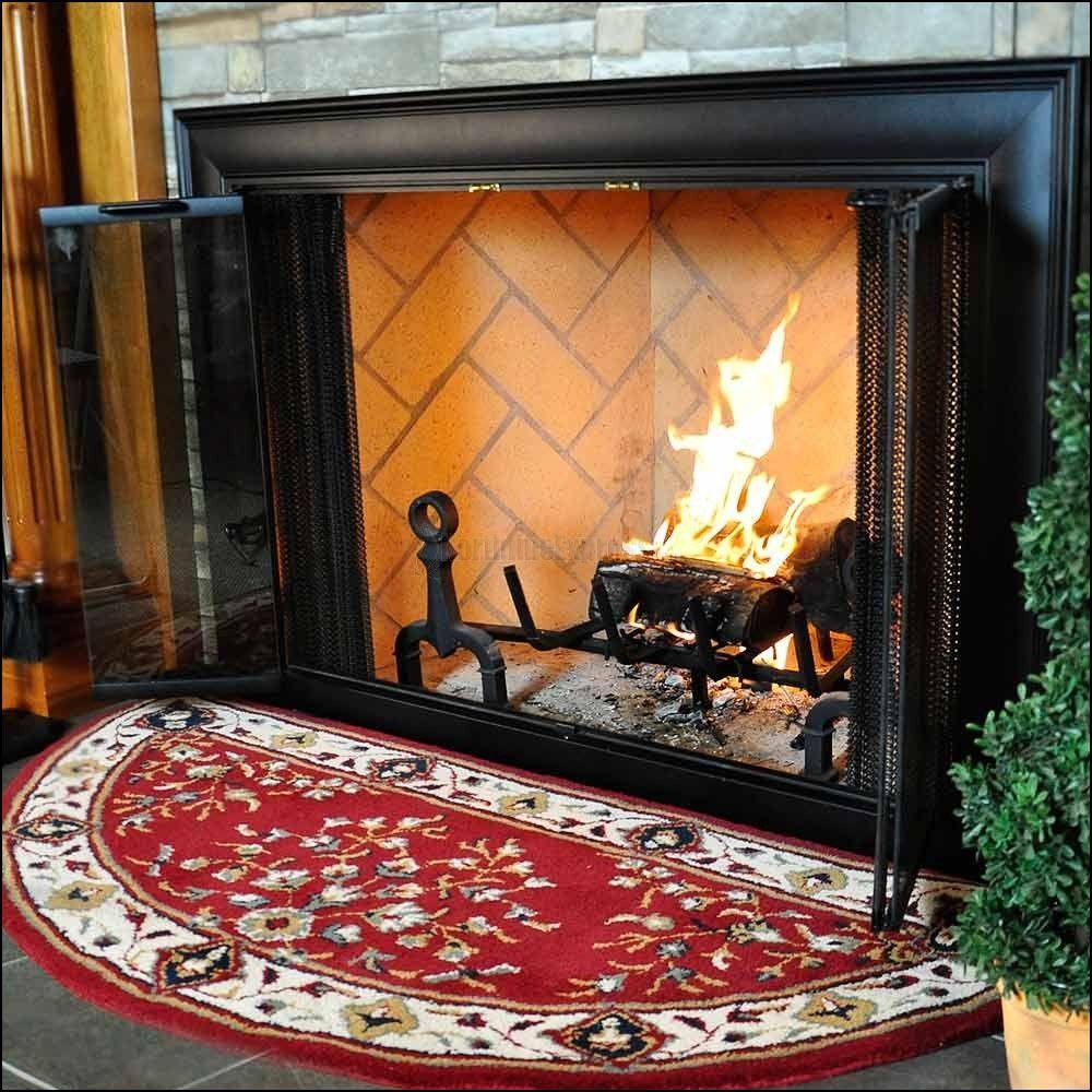 Fireplace Rug Protector