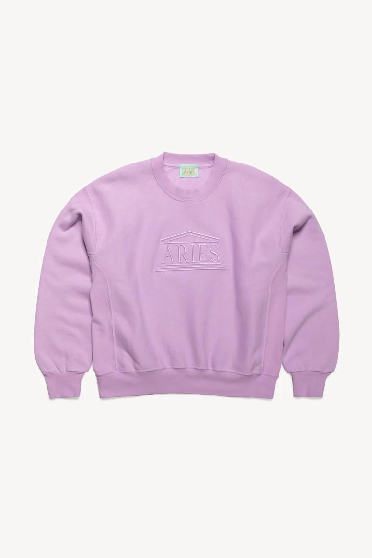 Aries Embroidered Temple Sweat Sweatshirts Sweatshirts Sale Crew Sweatshirts [ 1140 x 760 Pixel ]