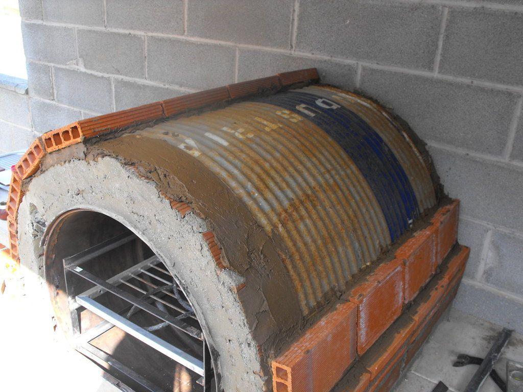 Taller de bioconstrucci n de hornos de tambor horizontal - Como hacer un barbacoa ...