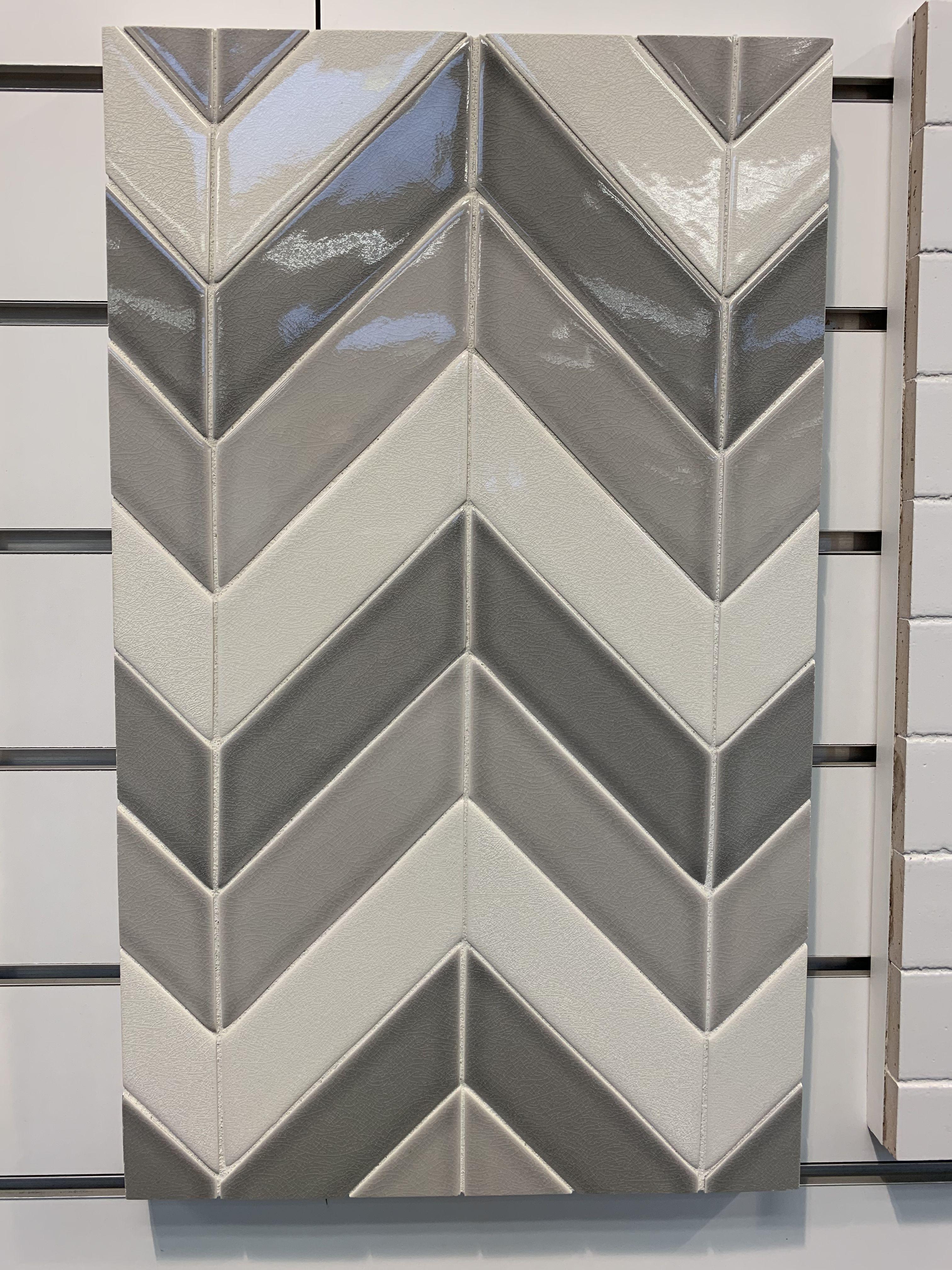 Sonoma Chevron Handmade Tile Handmade Tiles Tiles Handmade