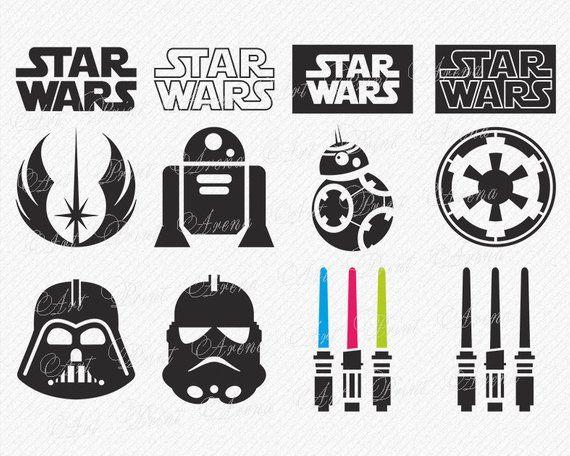 Star Wars SVG, Star Wars Clipart, Darth Vader svg, star wars