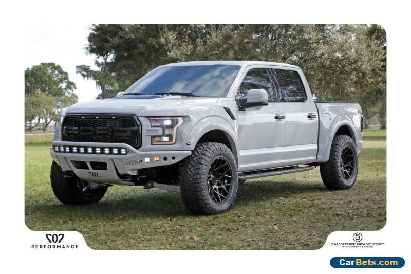 2017 Ford F 150 Raptor Crew Cab Pickup 4 Door Ford F150 Forsale
