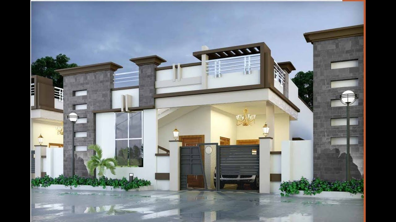 19 Best Single Floor Elevations Designs 2020 Elevation Ideas 1st Floor Elevation Idea Small House Front Design Small House Elevation Design House Elevation