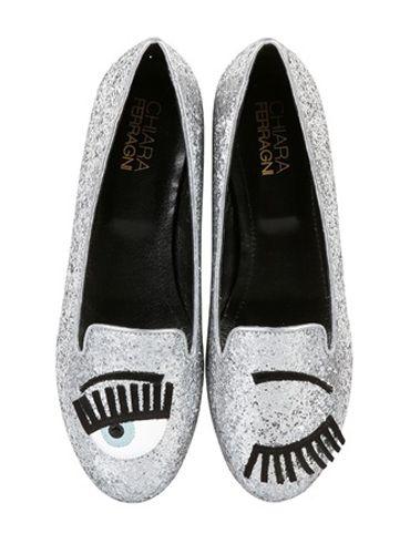 Blink Glitter Loafers