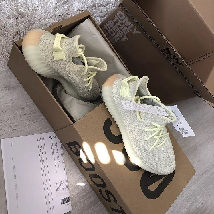 another chance ba552 e4902 Adidas Yeezy boost Butter Sizes (6.57891011) LIMITED 100 ...