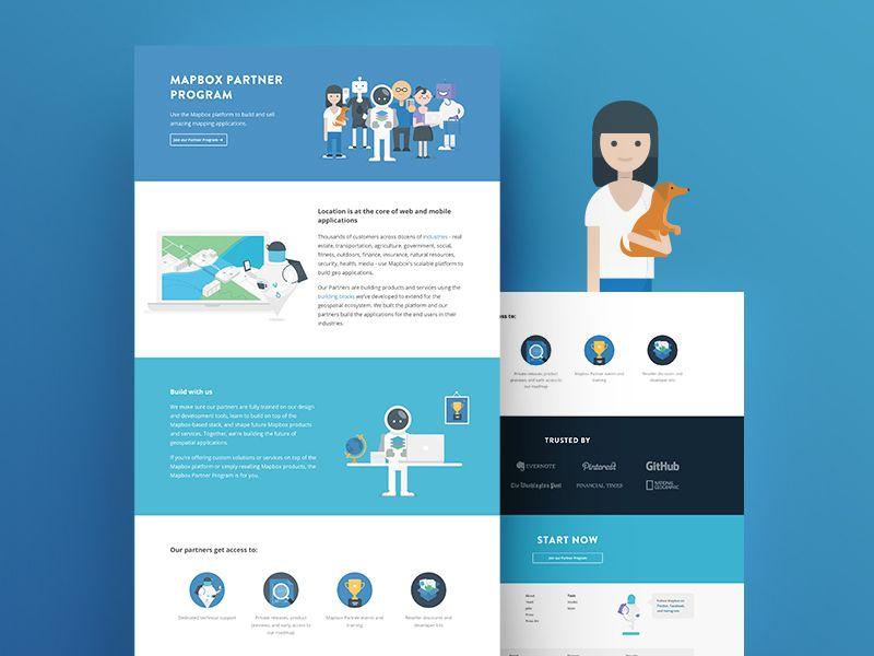 Mapbox Partners Web Inspiration Ux Web Design Partners