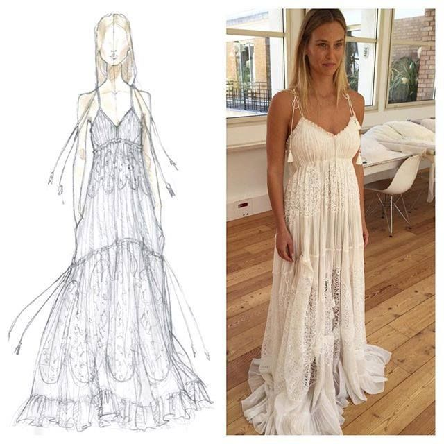 Bar Refaeli When Dreams Become Reality Chloe Tbt Wedding Dresses Dresses Dress Bar