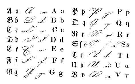 Image result for Old German Script Handwriting 1849