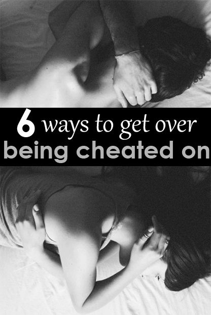 how to get over being cheated on and move on